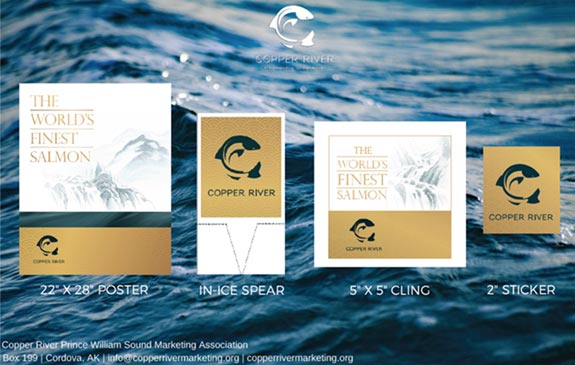 Poster of Available Copper River Marketing Materials Available